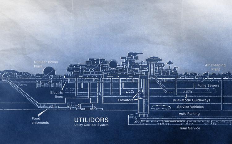La Ciudad Experimental de Minnesota propuso una infraestructura subterránea. Imagen cortesía de The Experimental City Documentary